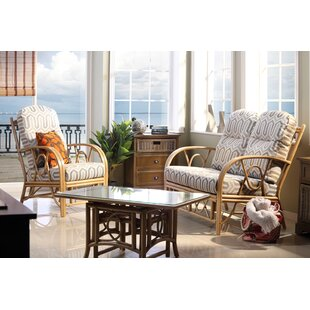 Hayley 3 Piece Conservatory Sofa Set By Beachcrest Home