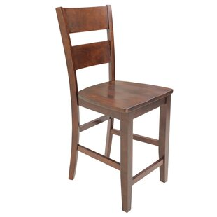 Dinsmore Curved Back Solid Wood Dining Ch..