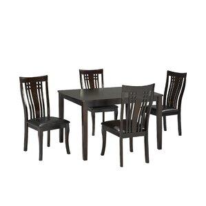 Fairmont 5 Piece Dining Set by Brassex