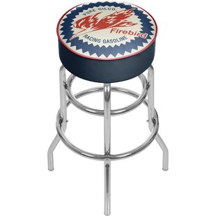 Pure Oil Firebird 31 Swivel Bar Stool by Trademark Global Top Reviews