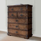 Durrett 5 Drawer Chest by Millwood Pines