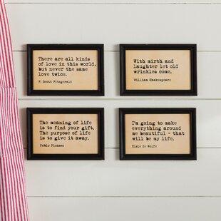 3ec145d28 Inspirational Quotes & Sayings Wall Art You'll Love in 2019   Wayfair