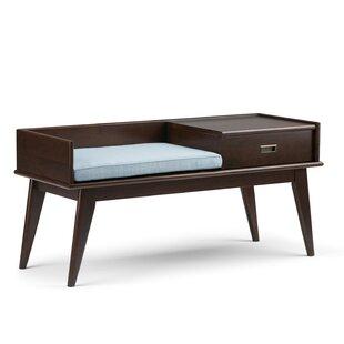 Simpli Home Draper Mid Century Upholstere..
