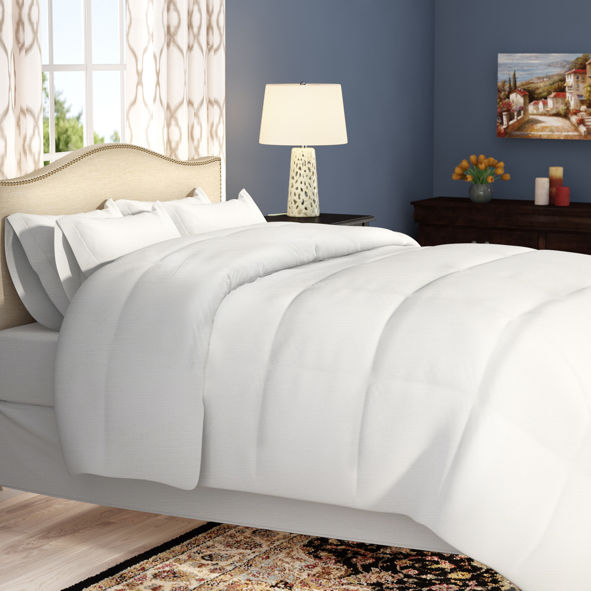 Navy White Comforters Sets Free Shipping Over 35 Wayfair