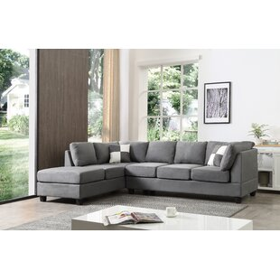 Grey Sectionals Youll Love Wayfair