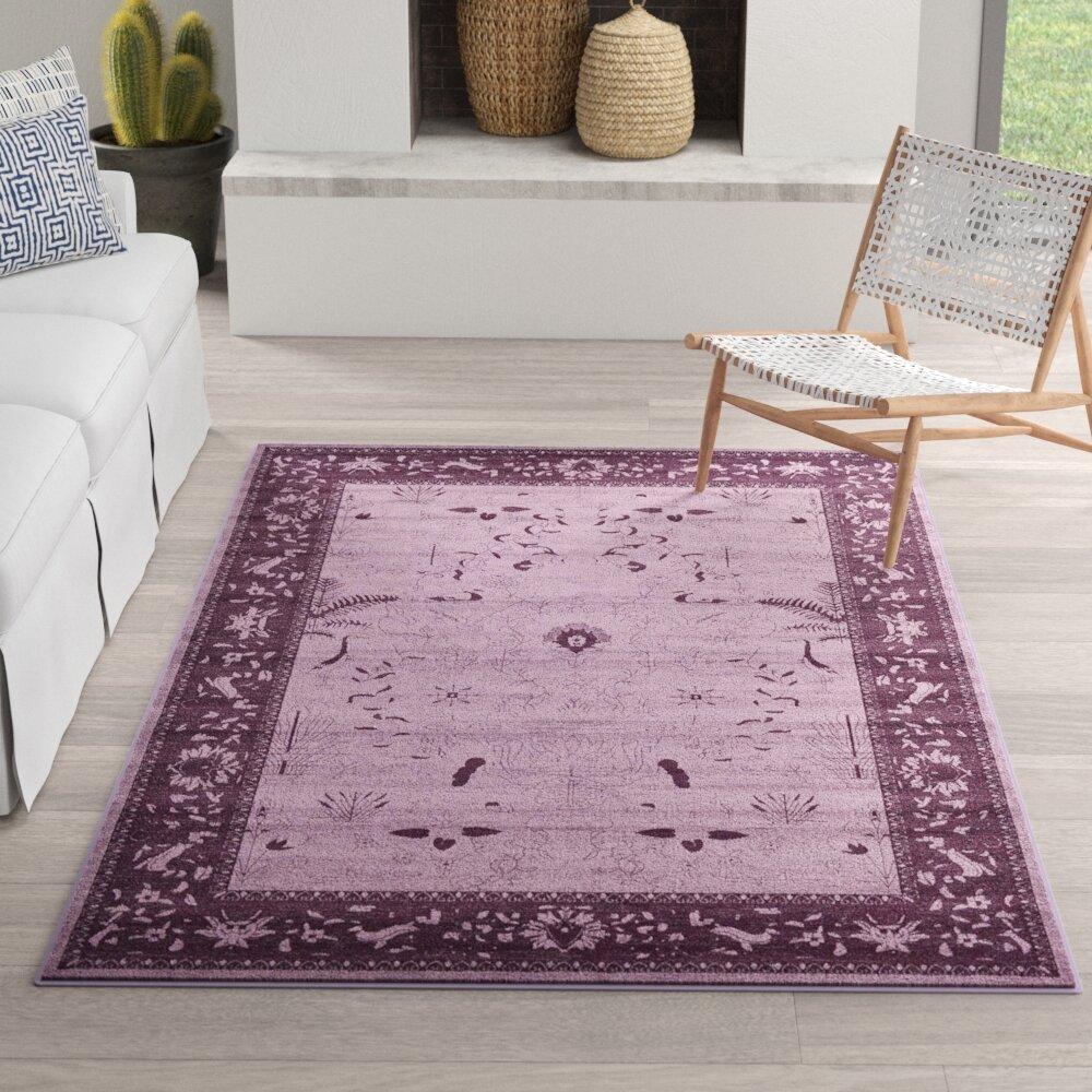 6 X 9 Purple Area Rugs You Ll Love In 2021 Wayfair