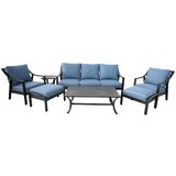 Rolla Outdoor Aluminum 7 Piece Sofa Seating Group With Cushions By Canora Grey Vbghnjjufur
