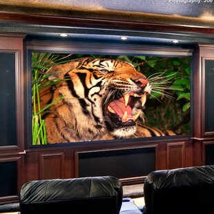 ShadowBox Clarion Fixed Frame Projection Screen Draper