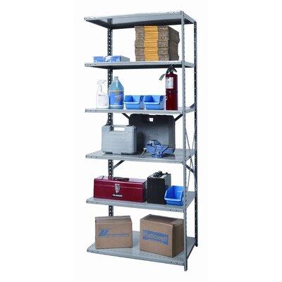 Hi Tech Extra Heavy Duty Open Type 87 H 5 Shelf Shelving Unit Add On Hallowell Size 87 H X 48 W X 24 D