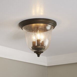 Cheever Curved Flush Mount by Birch Lane? Heritage