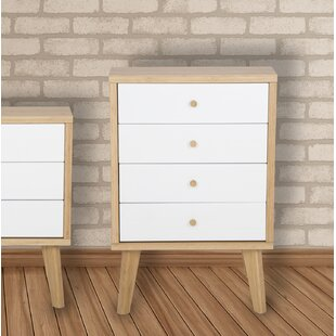 Kane 4 Drawer Chest By Isabelline