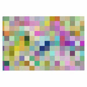 Dawid Roc Colorful Pixels Doormat