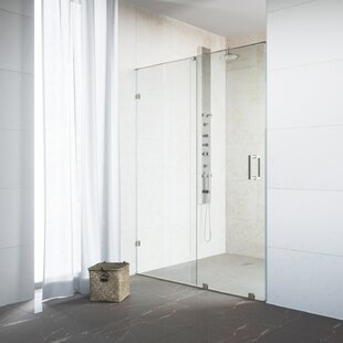 Ryland 48 x 72.75 Single Sliding Frameless Shower Door By VIGO