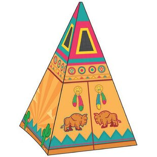 Best Reviews Santa Fe Giant Play Teepee with Carrying Bag By Pacific Play Tents