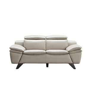 Nevin 2 Piece Leather Living Room Set