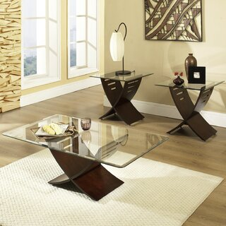 Alexios 3 Piece Coffee Table Set by Wade Logan SKU:DB257572 Details