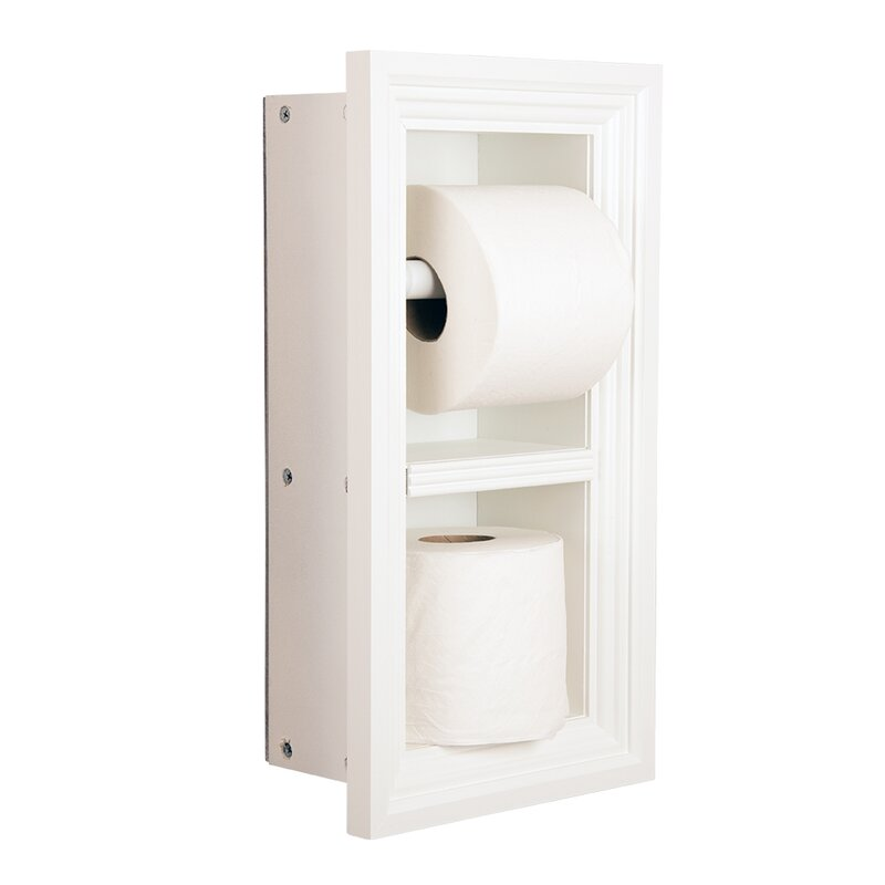 Timber Tree Cabinets Butler Recessed Toilet Paper Holder Wayfair
