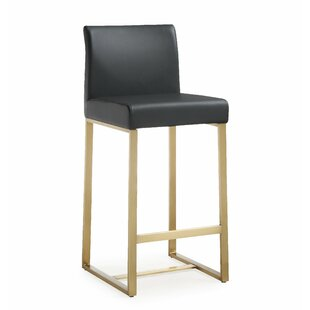 Yosef Steel Bar Stool (Set of 2) by Everl..