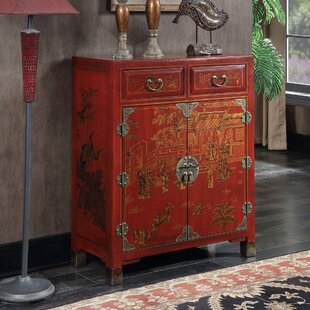 Read Reviews Raiden 2 Drawer Console Table with Shelf ByWorld Menagerie