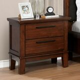 Nathaly 2 Drawer Nightstand by Red Barrel Studio®