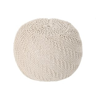 Breakwater Bay Knitted Pouf