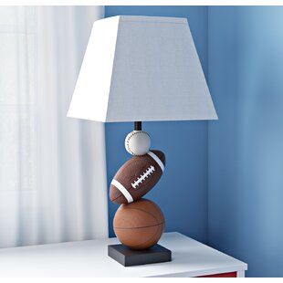 Sports table lamps youll love wayfair kristofer 2363 table lamp mozeypictures Images