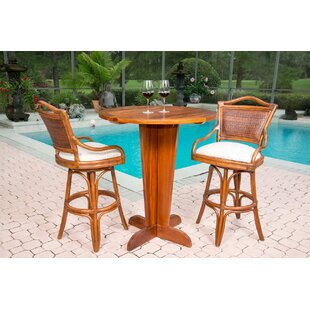 Serengeti 3 Piece Drop Leaf Dining Set