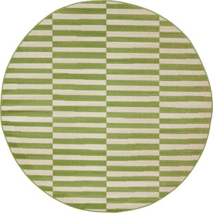 Squire Grass Green/White Area Rug by Zipcode Design