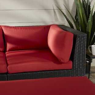 Zoar Patio Corner Seat Chair with Cushion