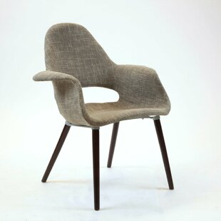 Bridwell Plastic Fabric Dining Chair by Wrought Studio