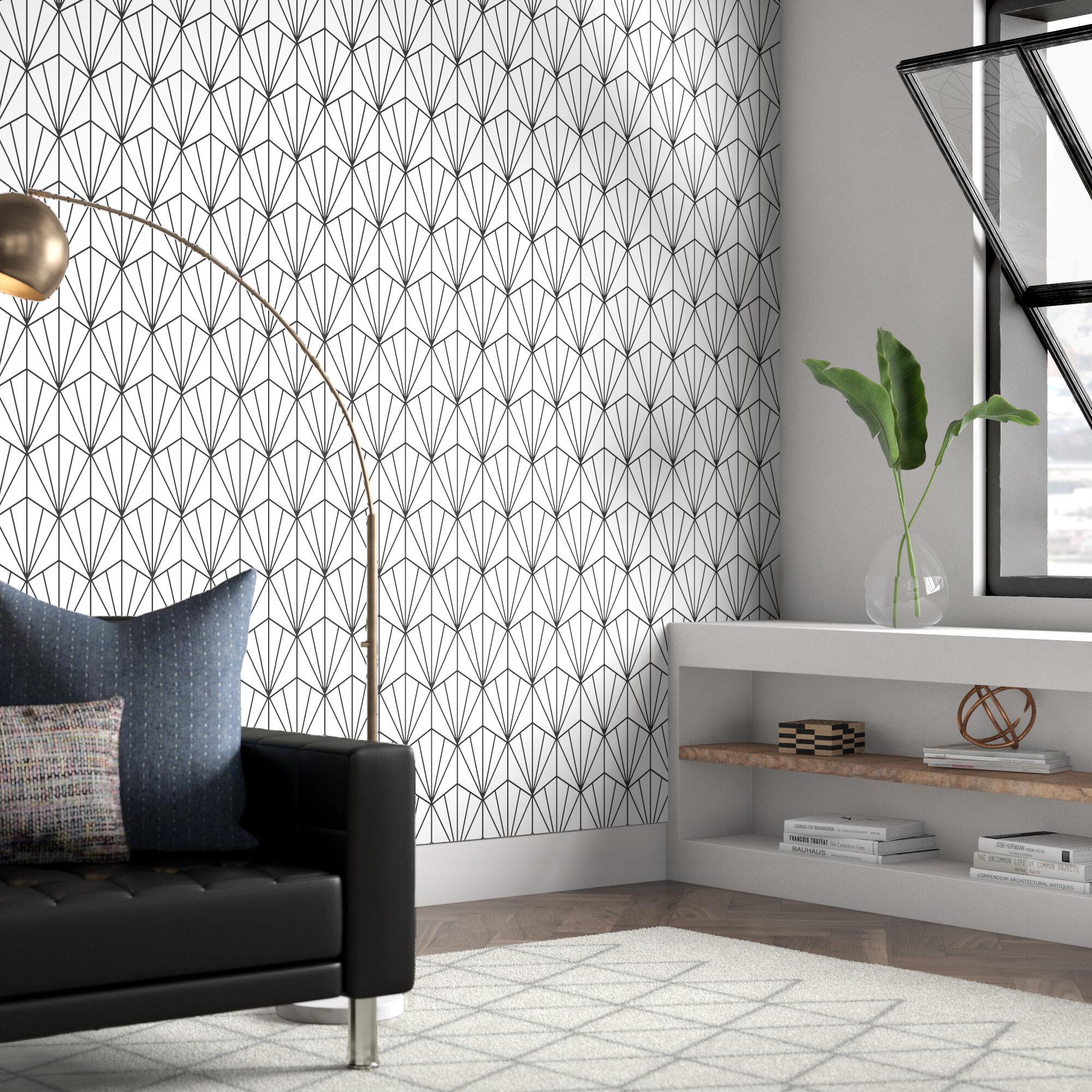 Wrought Studio Hartle 48 L X 24 W Peel And Stick Wallpaper