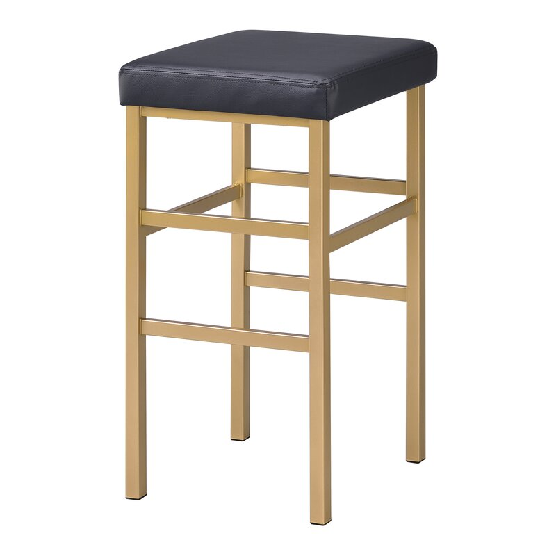 Everly Quinn Skyla 30 Backless Bar Stool Reviews Wayfair