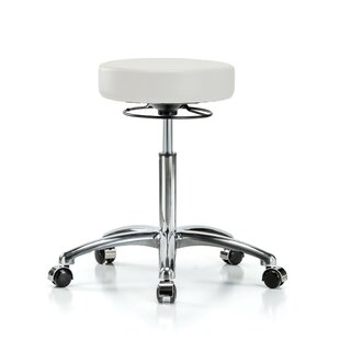 Height Adjustable Massage Therapy Swivel Stool by Perch Chairs & Stools