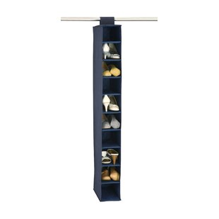 10-Compartment Hanging Shoe Organizer (Set of 2) By Organize It All