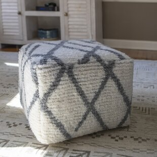 Ivywood Square Pouf by Latitude Run