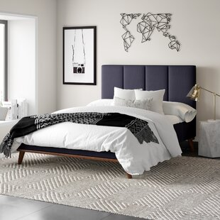 Great Price Eiler Upholstered Platform Bed by Mercury Row Reviews (2019) & Buyer's Guide