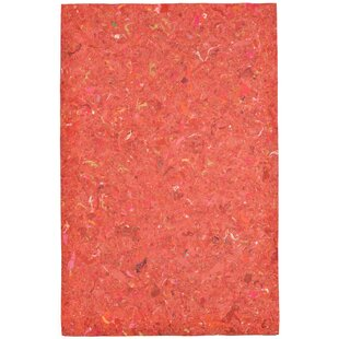 Chacko Orange Indoor/ Ourdoor Indoor/Outdoor Area Rug by Wrought Studio