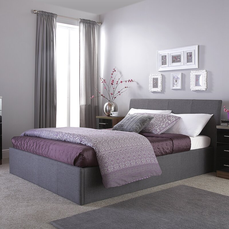 Mercury Row Guerriero Upholstered Ottoman Bed Frame & Reviews ...