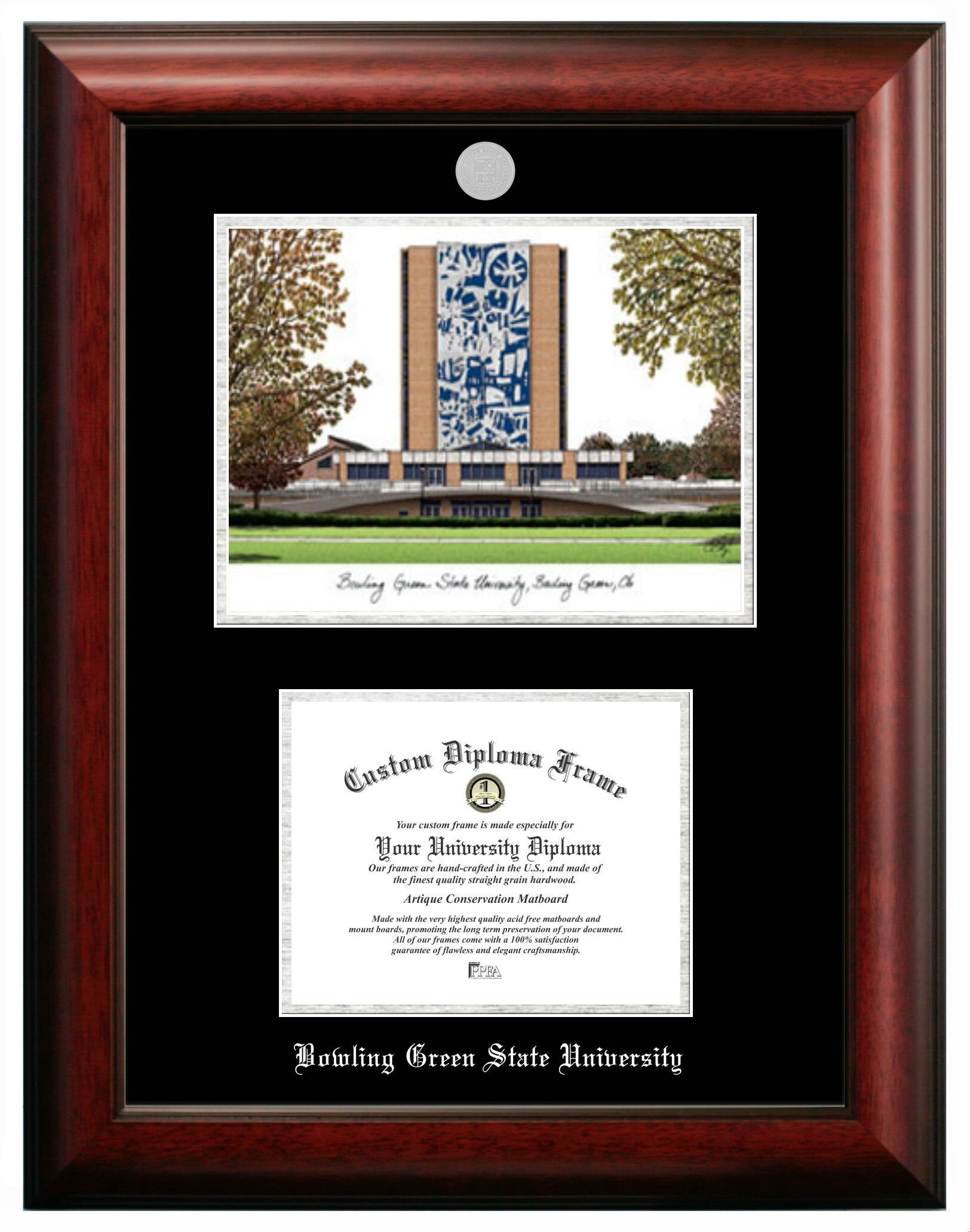 Campus Images Bowling Green State Picture Frame Wayfair
