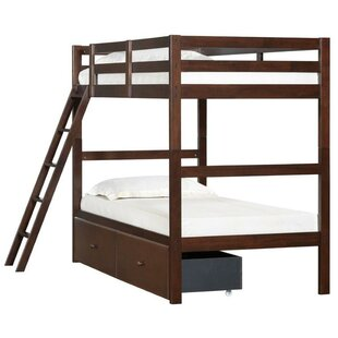 Great Price Rosina Twin over Twin Bunk Bed with Two Storage Drawers by Simmons Casegoods by Beachcrest Home Reviews (2019) & Buyer's Guide