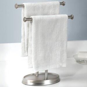 Bathroom Hand Towel Holder find the best towel stands | wayfair