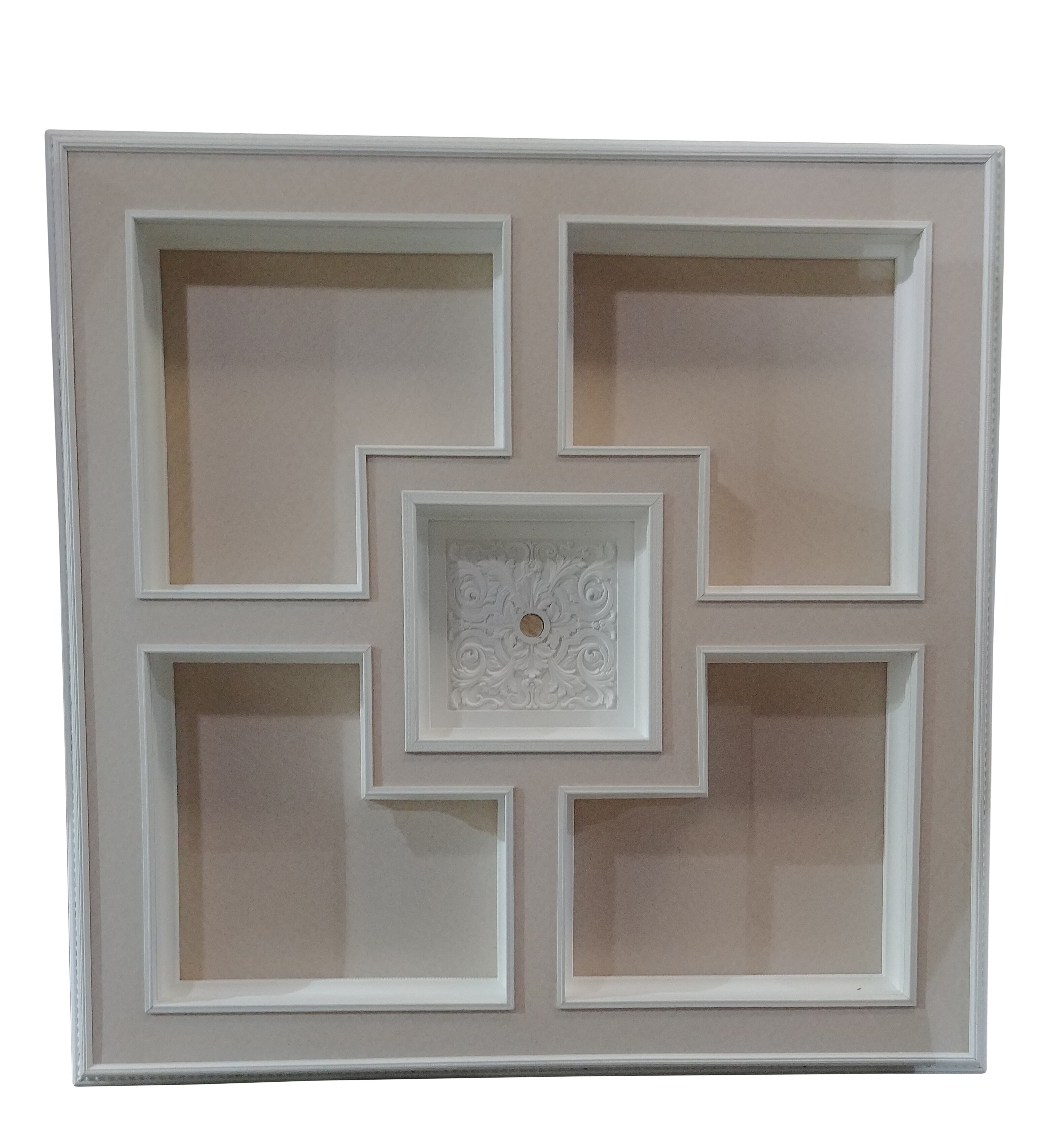 Majestic Square Ceiling Medallion