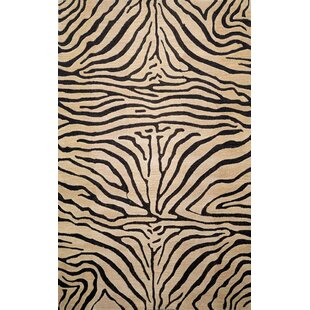 Reviews Bowdens Zebra Neutral Rug ByWorld Menagerie