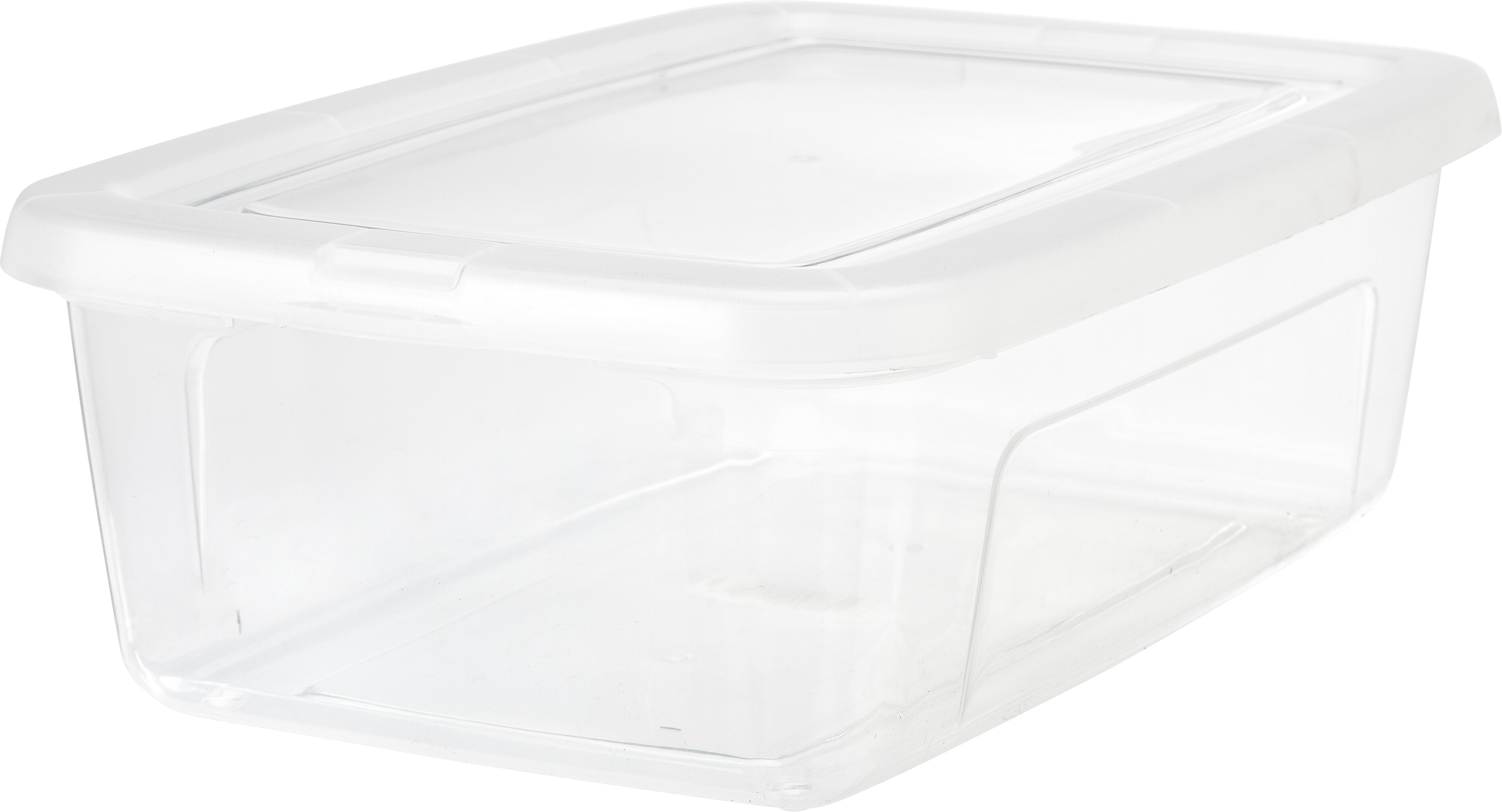 IRIS 6 Quart Clear Storage Box Reviews Wayfair