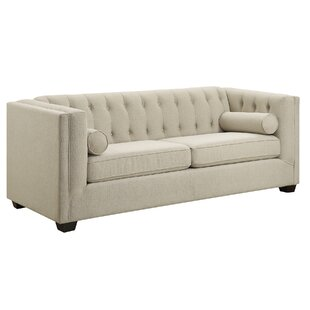 McDougal Modern Chesterfield Loveseat by Three Posts Spacial Price