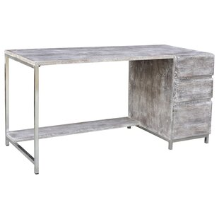 Honoria 3 Drawers Writing Desk by Loon Peak Cool