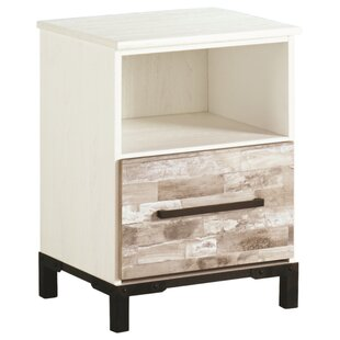 Marston 1 Drawer Nightstand by Gracie Oaks