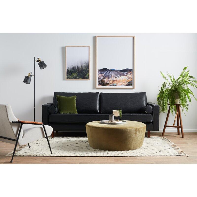 Bombay Leather Sofa Reviews Allmodern