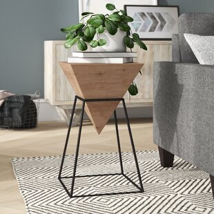 Reiley Iron End Table by Ivy Bronx Herry Up