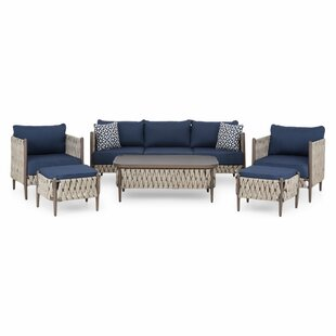 Pompen 5 Seater Sofa Set By Sol 72 Outdoor